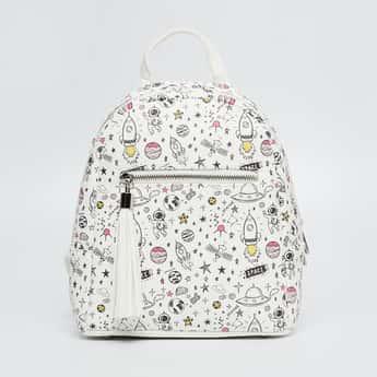 GINGER Doodle Print Backpack