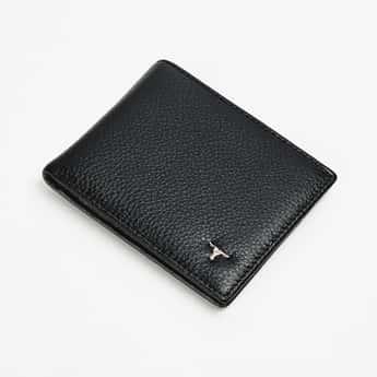 BULCHEE Men Genuine Leather Textured Wallet