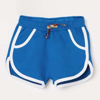 JUNIORS Solid Knitted Shorts