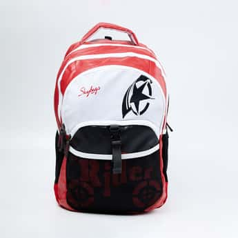 SKYBAGS Printed Travel Backpack with Rain Cover