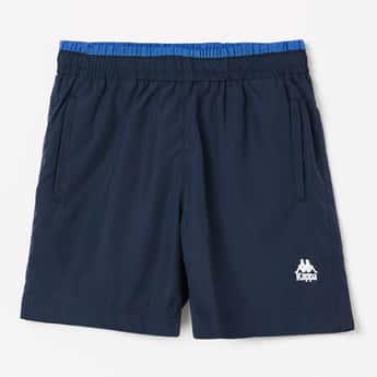 KAPPA Solid Elasticated Waist Shorts