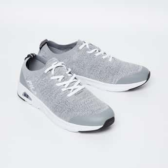 FILA Textured Zubro Lace-Up Sports Shoes