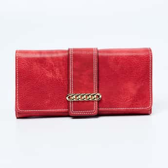 TONIQ Textured Bi-Fold Wallet