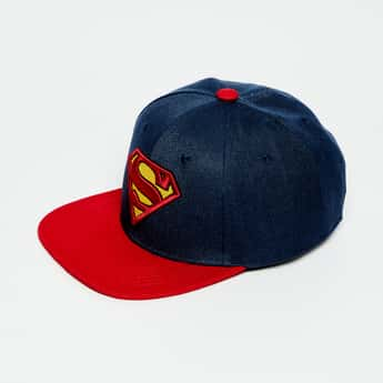 KIDSVILLE Superman Embroidered Cap