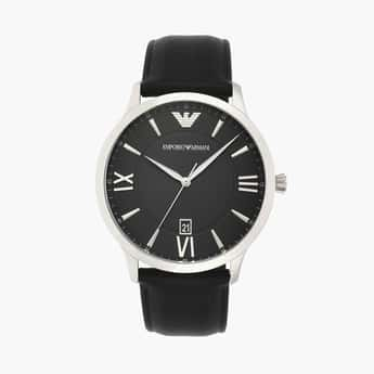 EMPORIO ARMANI Men Analog Watch with Leather Strap - AR11210