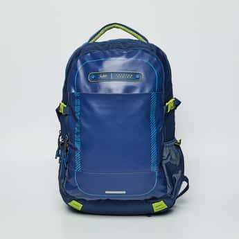 SKY BAGS Textured Backpack with Rain Cover