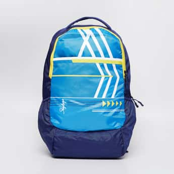 SKY BAGS Printed Laptop Backpack with Rain Cover