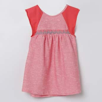 FS MINI KLUB Smocked Empire-Line Dress