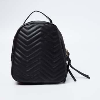 GINGER Chevron Pattern Backpack