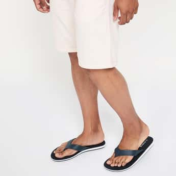 FORCA Textured Flip-Flops with Signature Branding