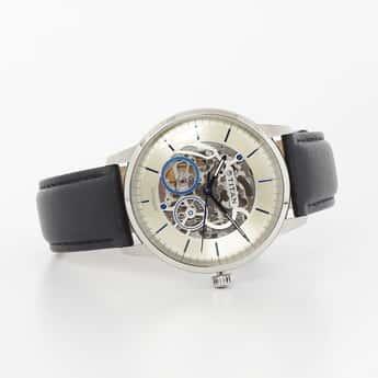 TITAN Men Water-Resistant Automatic Watch - 90110SL02