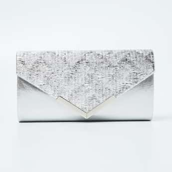CODE Shimmery Detail Clutch