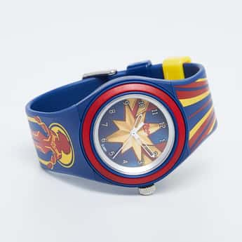 ZOOP Captain Marvel Print Analog Watch - C4048PP25
