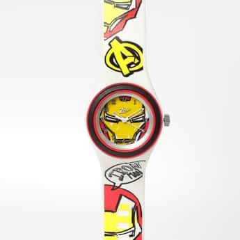 ZOOP  Avengers Print Water-Resistant Analog Watch