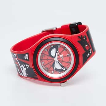 ZOOP Spiderman War Print Analog Watch - C4048PP31