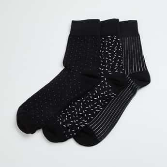 CODE Men Jacquard Socks - Pack of 3