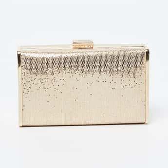 LAVIE Shimmery Box Clutch