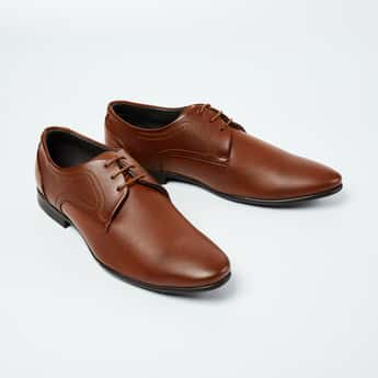 CODE Textured Derby Shoes