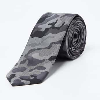 CODE Camouflage Print Casual Tie