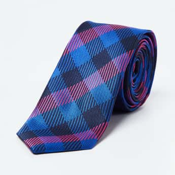 CODE Checked Casual Tie
