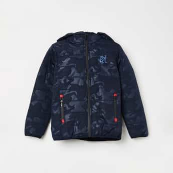 PEPE JEANS Printed Hooded Jacket