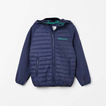 PEPE JEANS Solid Puffer Jacket