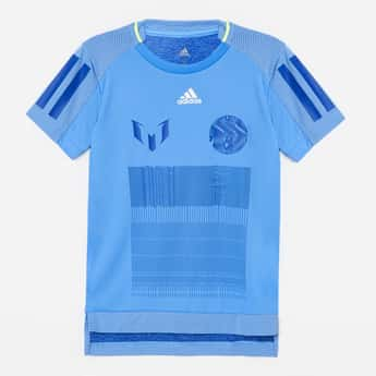ADIDAS Printed Crew Neck T-shirt