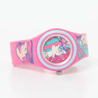 ZOOP Disney Print Analog Watch- C4048PP35