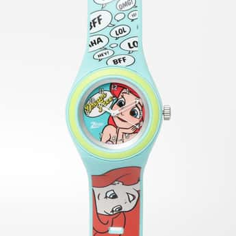 ZOOP Disney Print Analog Watch- C4048PP36
