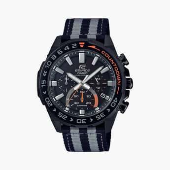 CASIO Edifice Men Solar & Sapphire Chronograph Watch - EFS-S550BL-1AVUDF (ED476)