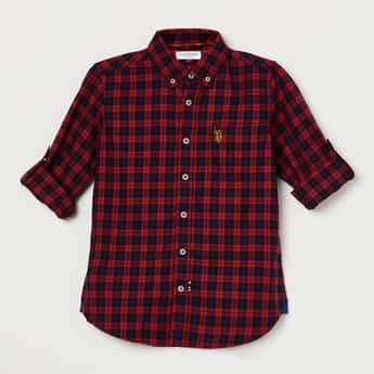 U.S. POLO ASSN. Checked Casual Shirt