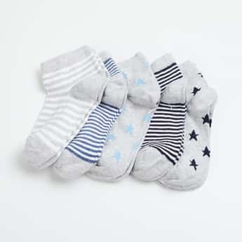 FAME FOREVER Boys Jacquard Socks - Pack of 5