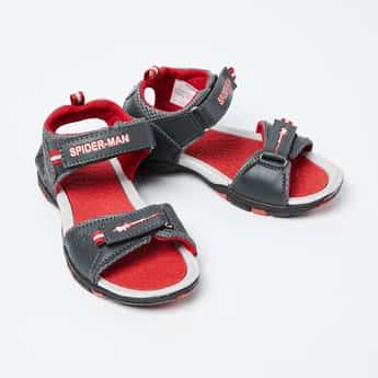 BIOWORLD Textured Spiderman Sandals
