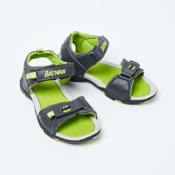 BIOWORLD Textured Batman Sandals