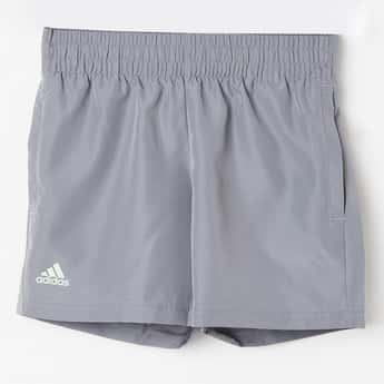 ADIDAS Solid Elasticated Shorts