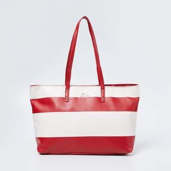 LAVIE Striped Shoulder Bag