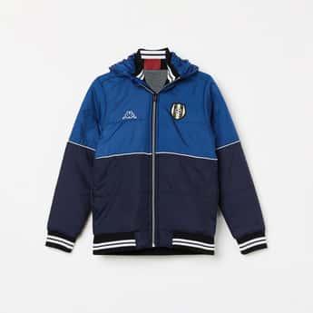KAPPA Colourblocked Hooded Jacket