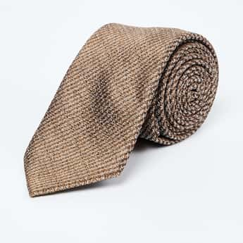 LOUIS PHILIPPE Patterned Weave Tie