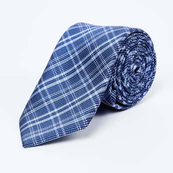 LOUIS PHILIPPE Checked Formal Tie