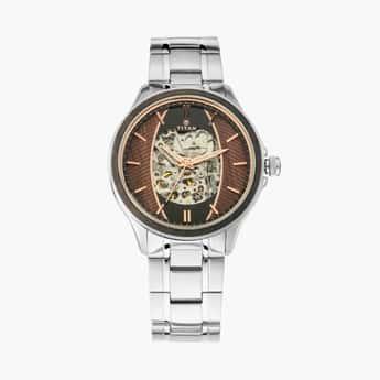 TITAN Maritime Men Water-Resistant Automatic Watch - 1793KM03