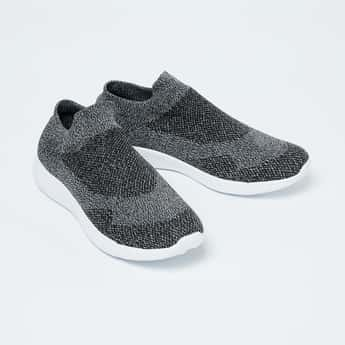 FORCA Textured Slip-On Casual Shoes
