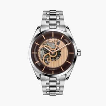 TIMEX Men Water-Resistant Automatic Watch - TWEG17501