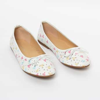 FAME FOREVER Printed Ballerinas with Embellishments