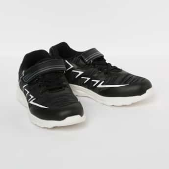 FAME FOREVER Boys Textured Lighting Lace-Up Shoes
