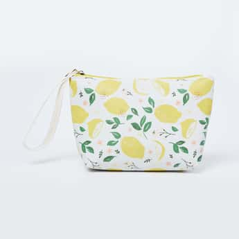 GINGER Printed Cosmetic Pouch