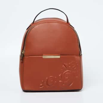 CODE Floral Embossed Backpack