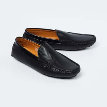 CODE Textured Loafers