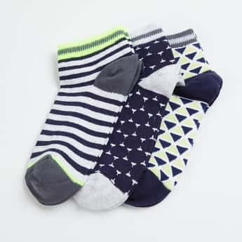 FAME FOREVER Boys Jacquard Socks - Pack of 3