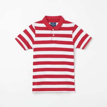 FAME FOREVER KIDS Striped Polo T-shirt