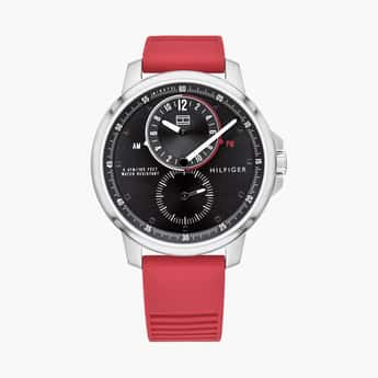 TOMMY HILFIGER Men Analog Watch with Silicone Strap - TH1791628